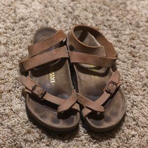 Birkenstock Yara Antique Brown Antik Braun Sandal
